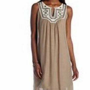 Luxology Sequin Embroidered Dress